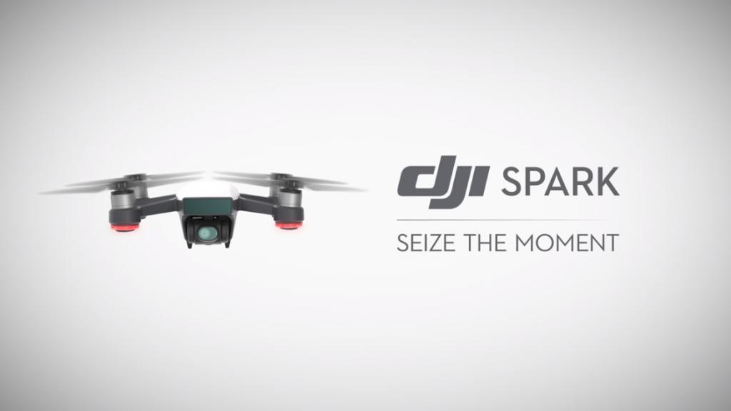 De nieuwe DJI Spark, vol met de nieuwste technologieën!